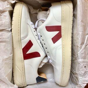Women's Veja Bastille Leather Shoes Sz 8